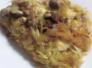 JAあわじ島の特産品レシピ「キャベツの蒸し焼き」