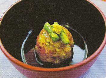 JAあわじ島の特産品レシピ「小イモまんじゅうのあんかけ」