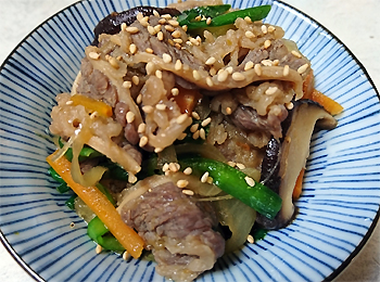 JAあわじ島の特産品レシピ「チャプチェ」