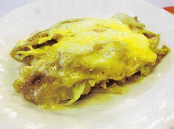 JAあわじ島の特産品レシピ「豚肉とキャベツの重ね煮」