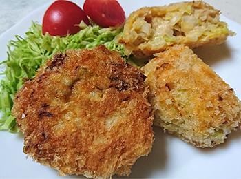 JAあわじ島の特産品レシピ「キャベツカツ」