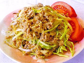 JAあわじ島の特産品レシピ「新たまねぎのアジアンサラダ」
