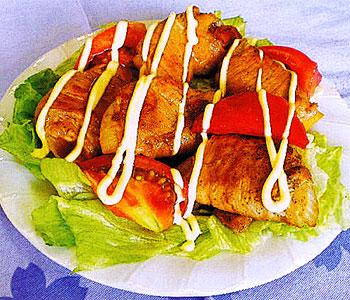 JAあわじ島の特産品レシピ「新たまねぎの豚肉ロール」