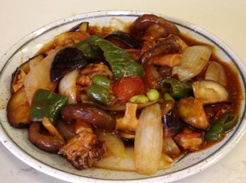 JAあわじ島の特産品レシピ「蛸と夏野菜の酢豚風」