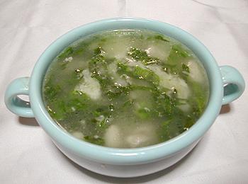 JAあわじ島の特産品レシピ「レタスのこくまろリゾット」