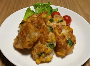 JAあわじ島の特産品レシピ「たまねぎの豆腐ナゲット」