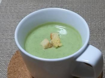 JAあわじ島の特産品レシピ「ブロッコリーのポタージュ」
